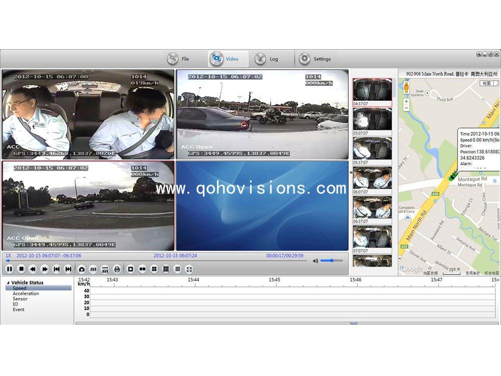 PAS software-Mobile DVR/ MDVR/ Car DVR