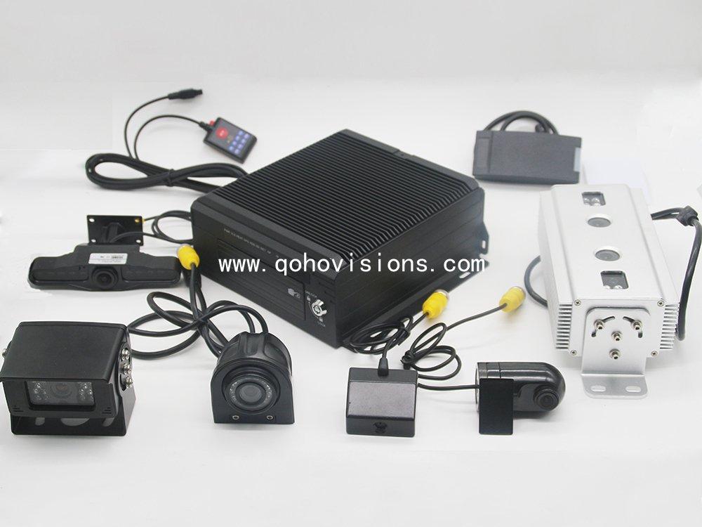 4-CH 1080P 2TB HDD GPS 3G WIFI MDVR