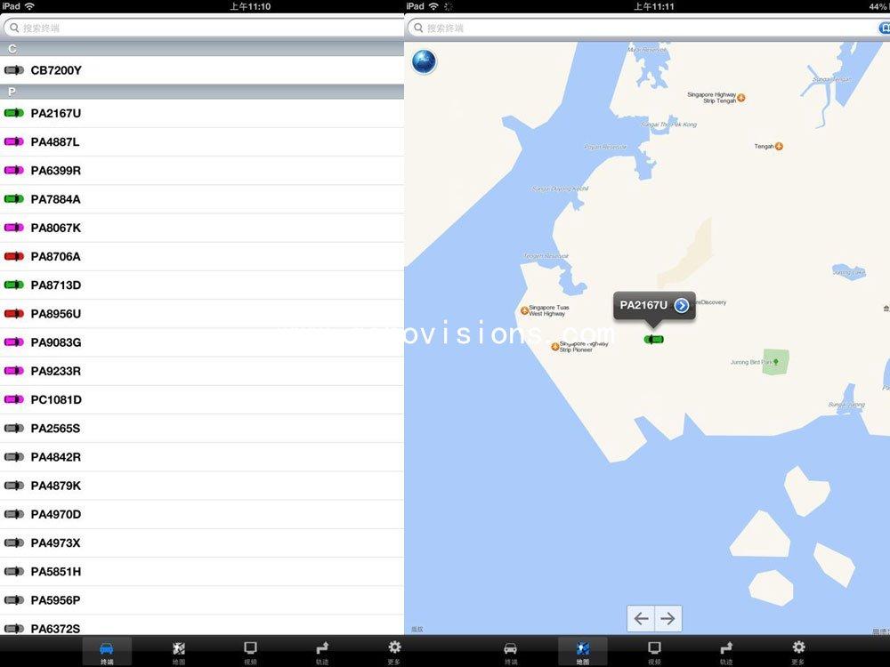 CMS client software-Mobile DVR MDVR Car DVR