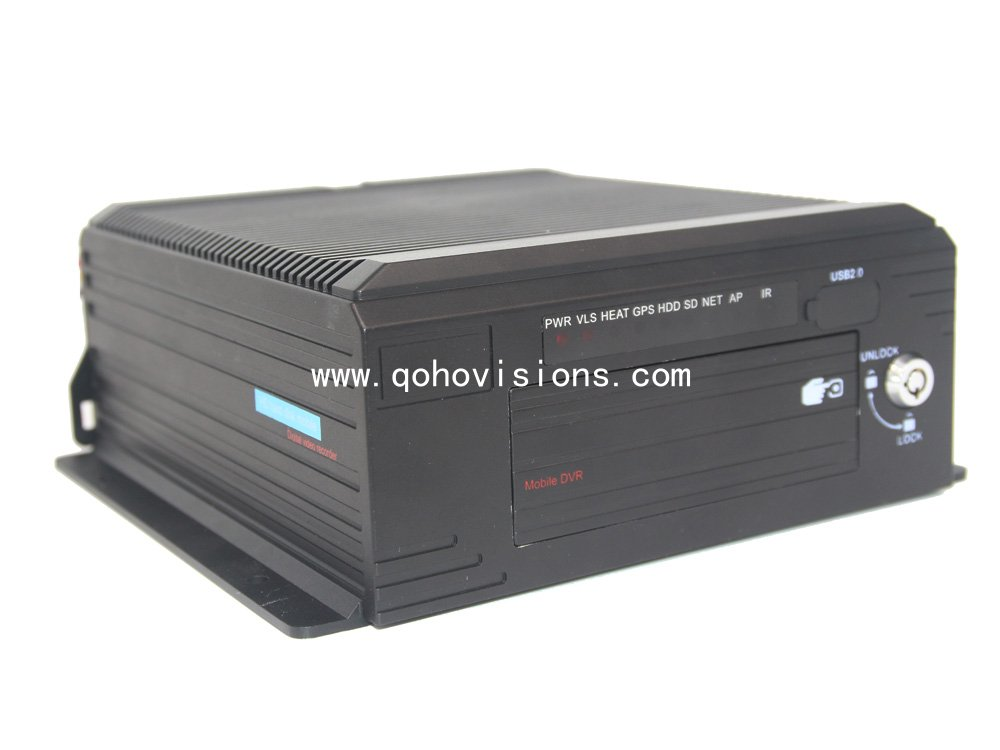 8 Channels 1080P GPS 4G WIFI HDD/SSD Mobile DVR