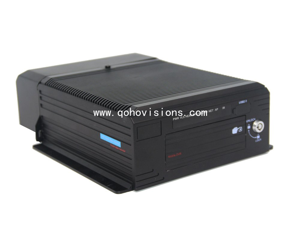 8ch 1080P AHD IPC Hybrid Mobile DVR,MNVR