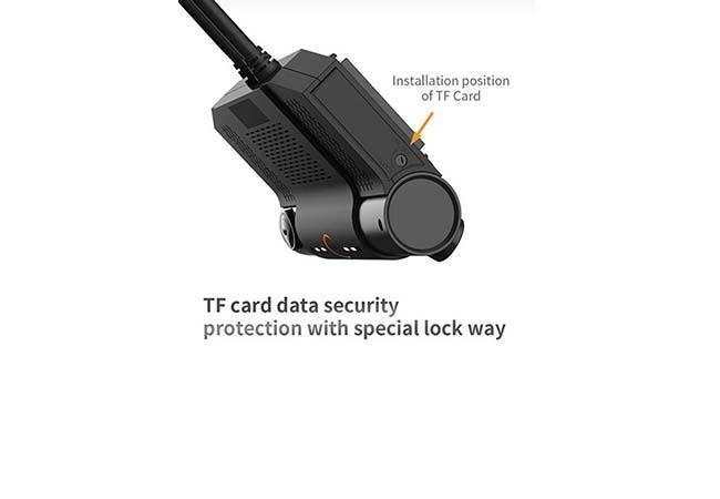 Car DVR MDVR8102S lock protection