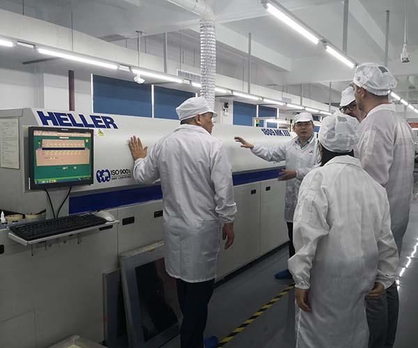ar security camera PCB checking machine
