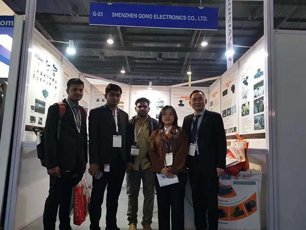IFSEC in india Exhibition QOHO