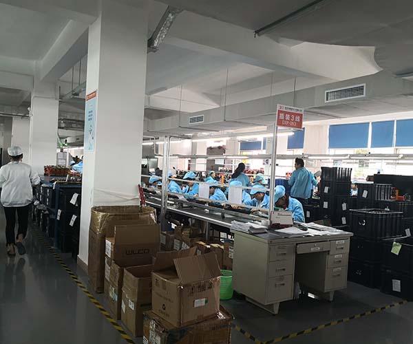 QOHO Car security caemra PCB production line