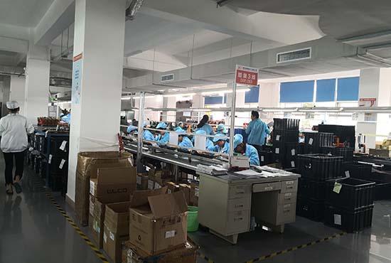 QOHO Car security camera PCB production line