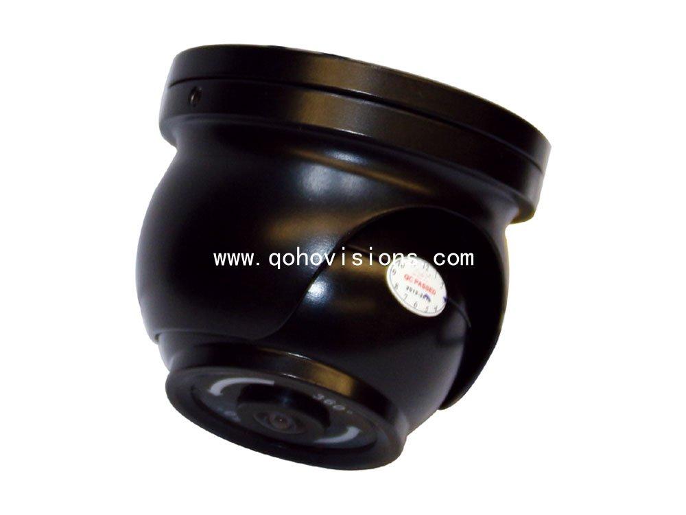 Metal Fish-Eye Car Ir Dome Camera 180 Degree / 360 Degree With Fisheye, MC60F