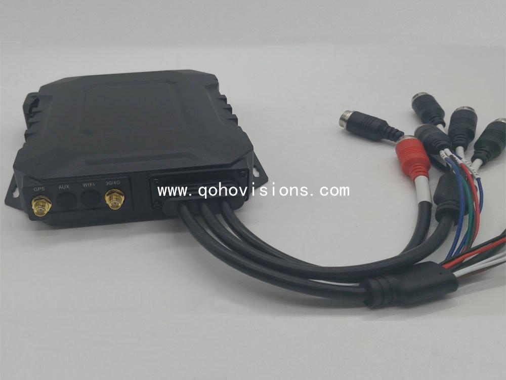4-CH 720P Waterproof SSD Mobile DVR