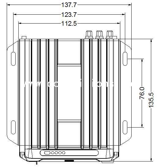 4-CH 1080P Dual SD Card Mobile DVR