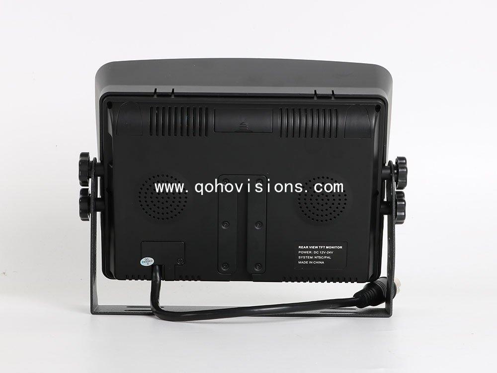 7inch 1080P 720P HD SD card Recording Quad Monitor