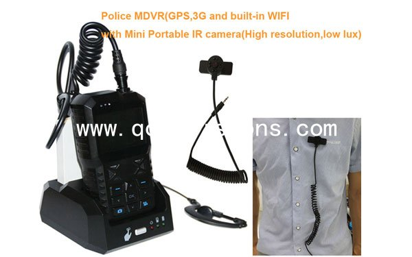 2.4 Inch 1080P Portabble Police Video Recorder,high resolution