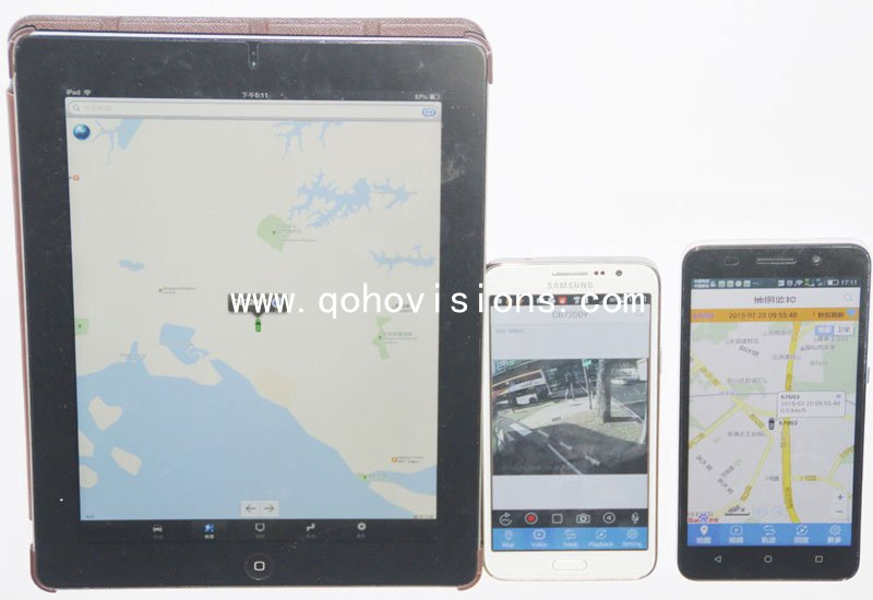 CMS client software-Mobile DVR/ MDVR/ Car DVR