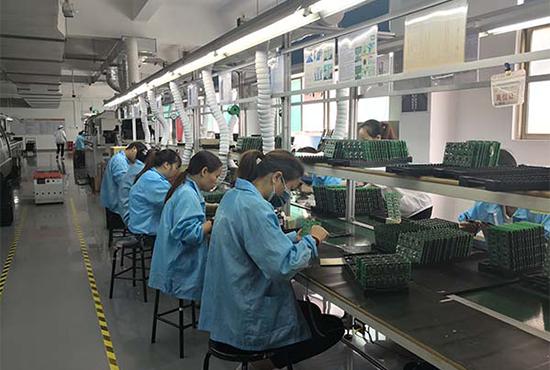 Car-DVR-production-QC-factory