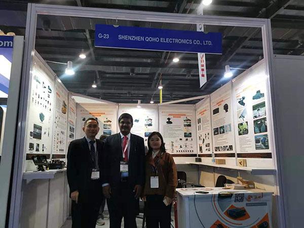 IFSEC India exhibition QOHO