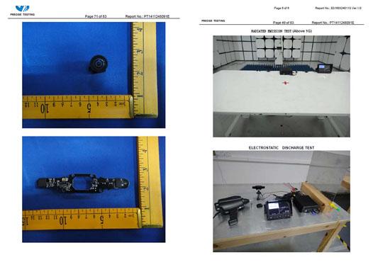 QOHO Vehicle camera EMC
