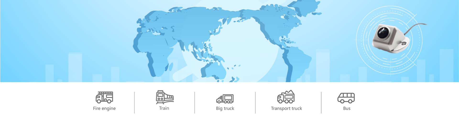 Truck Camera System Banner