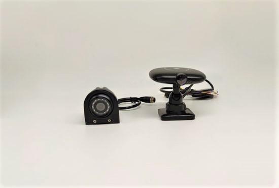 2ch 1080P IP camera dual SD card mobile DVR system MDVR8102