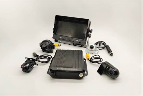 4ch 1080P dual SD card Mobile DVR system MDVR7104S