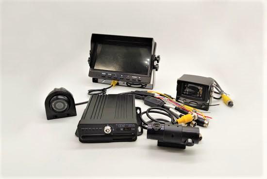 4ch 1080P single SD card mobile DVR system QH MDVR6104SH