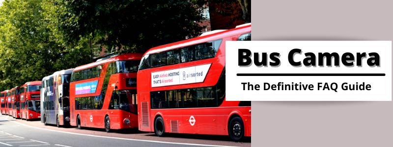 Bus Camera FAQs Banner