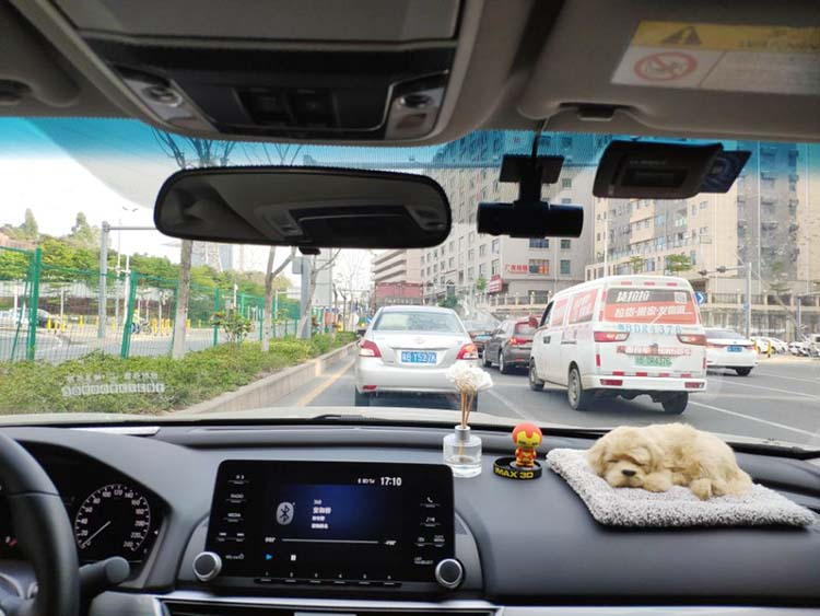 Car DVR on the car