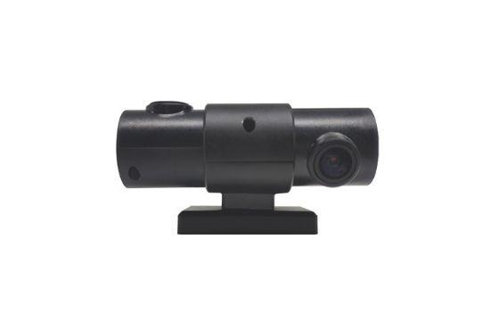 Dual lens car camera