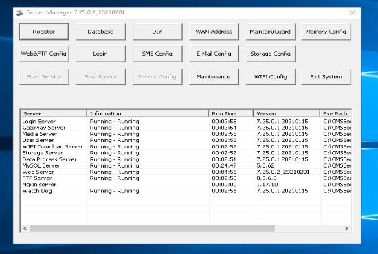 MDVR Software Server