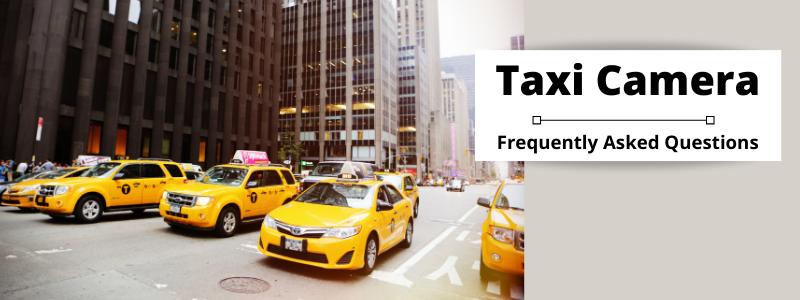 Taxi Camera FAQs Banner