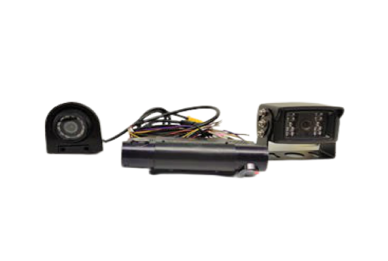 4ch dual SD card 1080P Truck Camera System