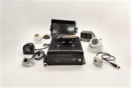 8ch 1080P HDD Mobile DVR system MDVR8208H